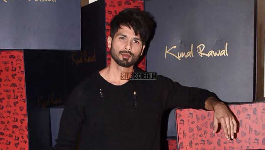 Shahid Kapoor At A Designer Store Launch