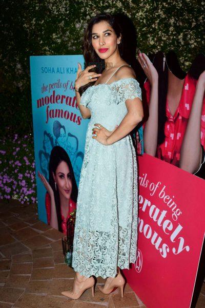 Soha Ali Khan's Book Launch In Mumbai
