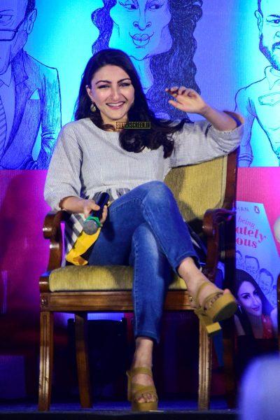 Soha Ali Khan at her Book Launch In Mumbai
