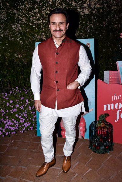 Saif Ali Khan At Soha Ali Khan's Book Launch In Mumbai