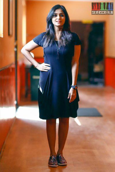 Remya Nambeesan At The Sathya Press Meet