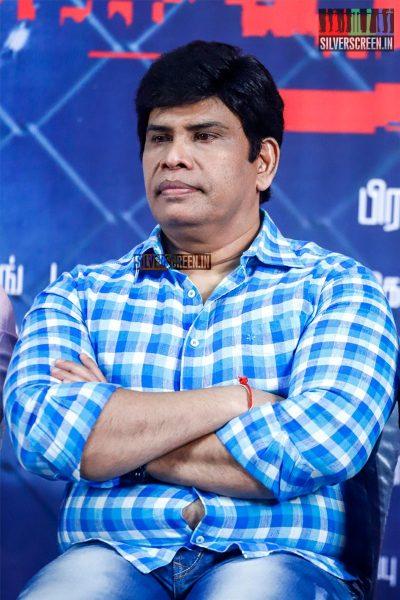 Anandhraj At The Sathya Press Meet
