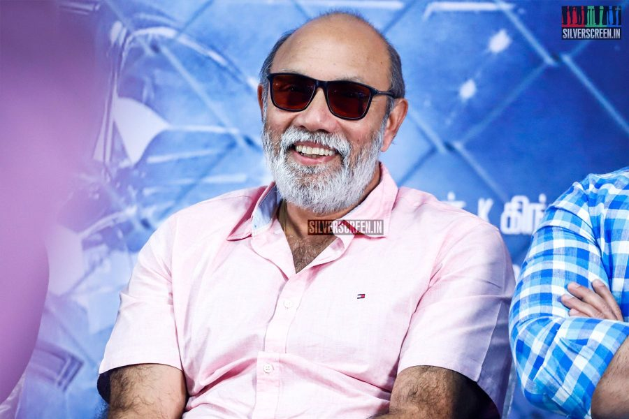 Sathyaraj At The Sathya Press Meet