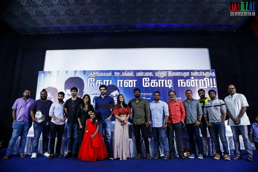 Sathya Success Meet Photos
