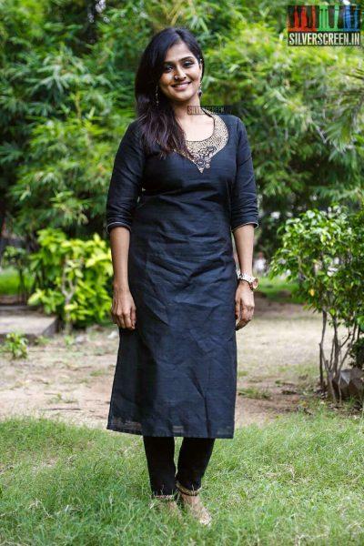 Remya Nambeesan At The Sathya Success Meet