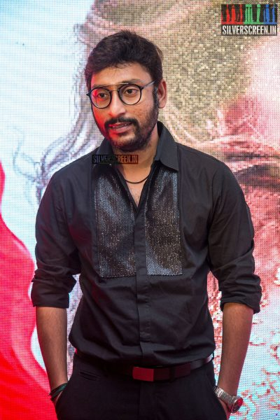 RJ Balaji At The Velaikkaran Audio Launch
