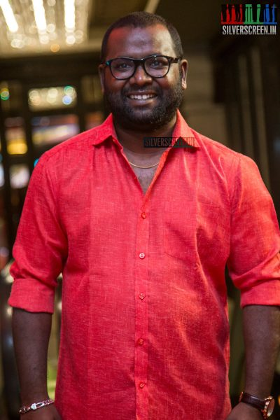 Arunraja Kamaraj At The Velaikkaran Audio Launch