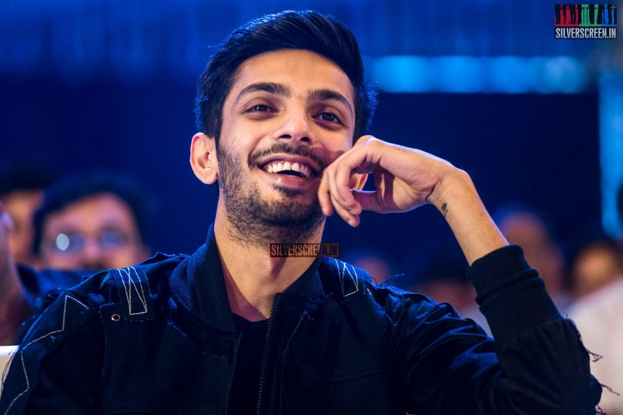 Anirudh Ravichander At The Velaikkaran Audio Launch