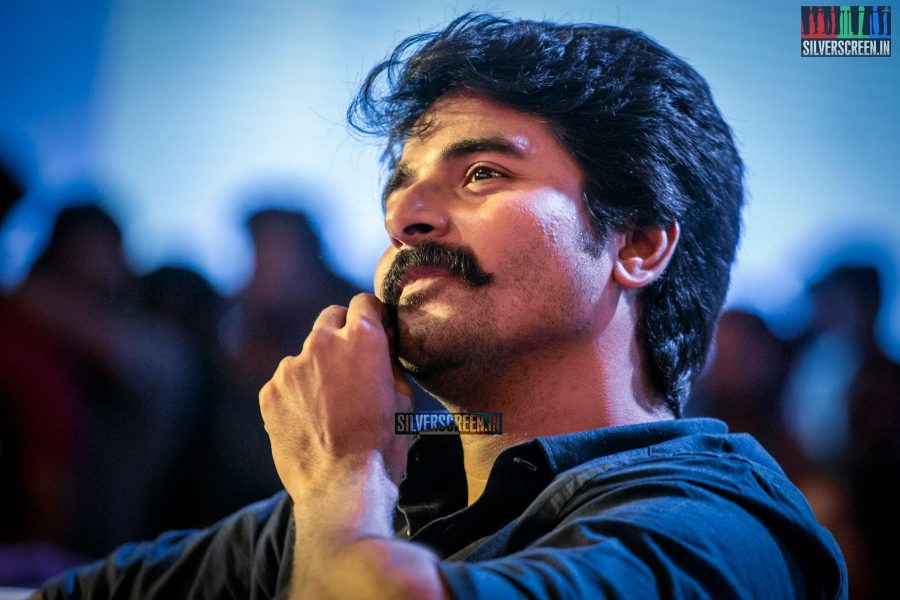 Sivakarthikeyan At The Velaikkaran Audio Launch