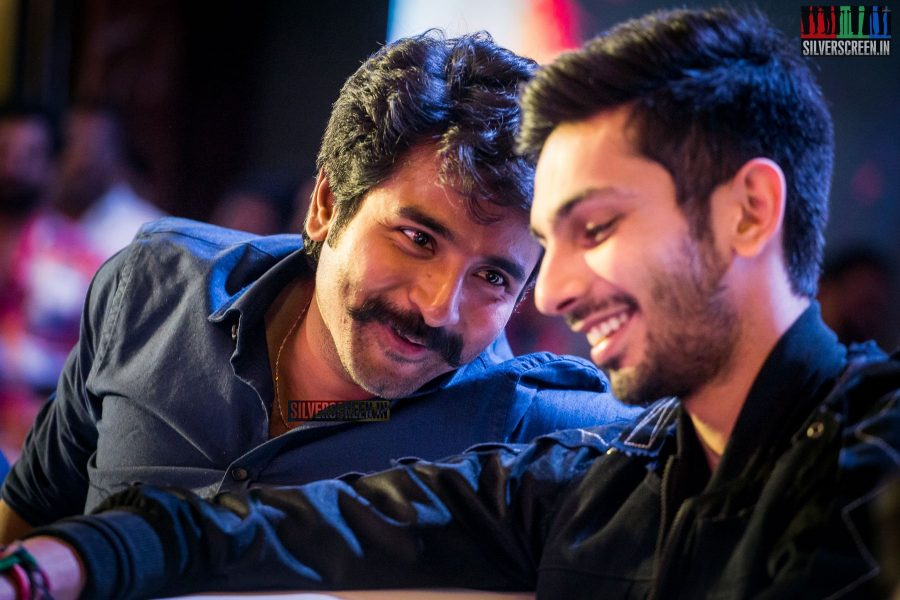 Sivakarthikeyan, Anirudh Ravichander At The Velaikkaran Audio Launch