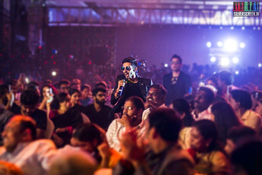Anirudh Ravichander At The Velaikkaran Audio Launch