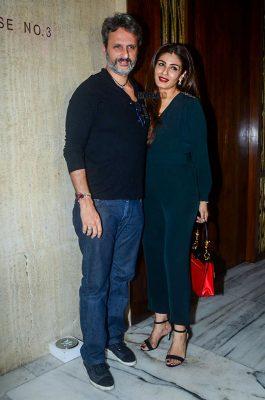Raveena Tandon at Manish Malhotra Bithday Celebration