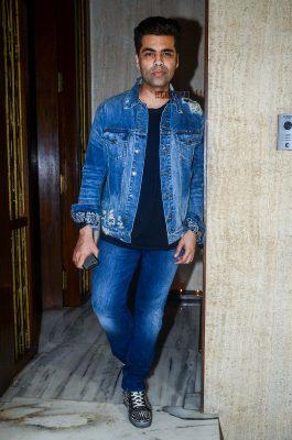 Karan Johar at Manish Malhotra Bithday Celebration