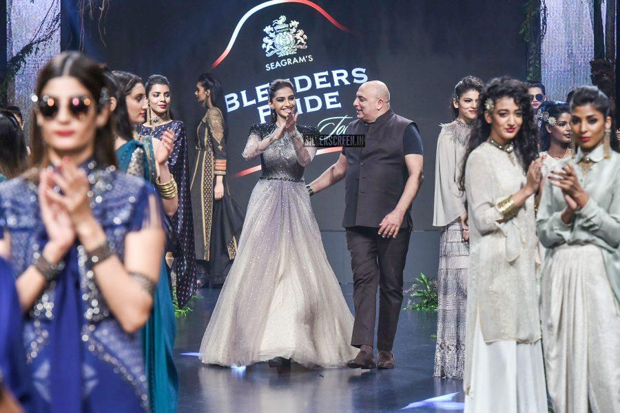 Sonam Kapoor  At The Blenders Pride Fashion Tour 2017