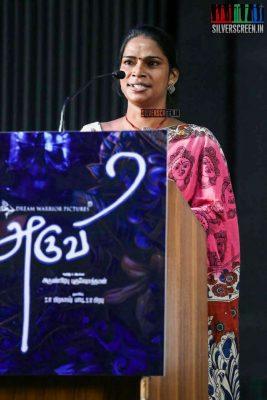 Aruvi Press Meet Photos