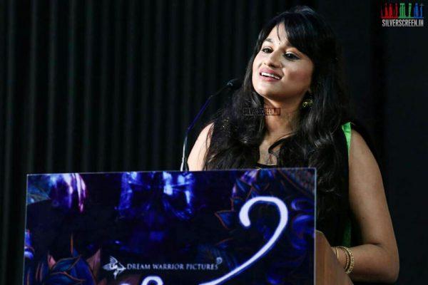 Shwetha Shekar at the Aruvi Press Meet