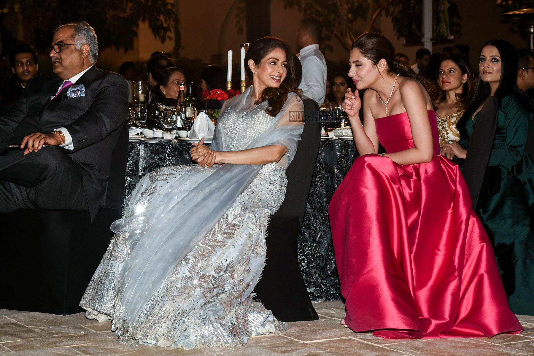 Sridevi Saba Qamar Mahira Khan At The Masala Awards In Dubai Silverscreen In