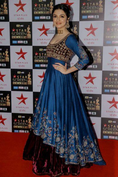 Divya Kumar At The Red Carpet Function of Star Screen Awards 2017