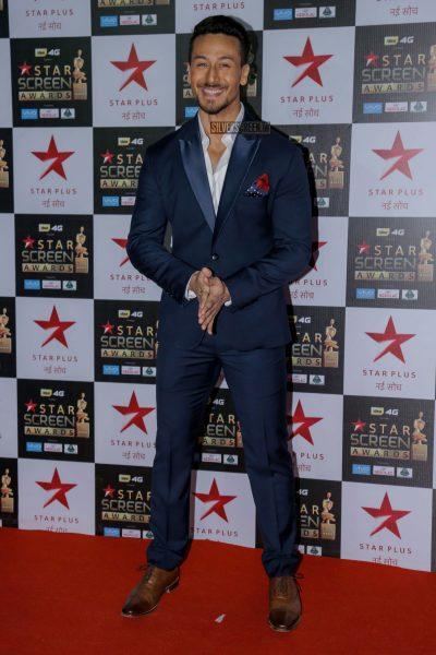 Tiger Shroff at the Star Screen Awards.