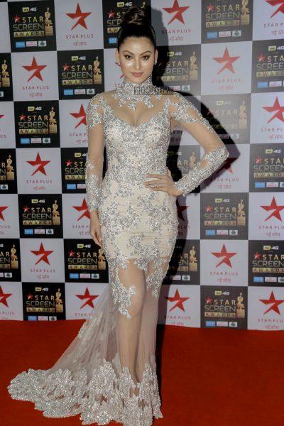 Urvashi Rautela at the Star Screen Awards.
