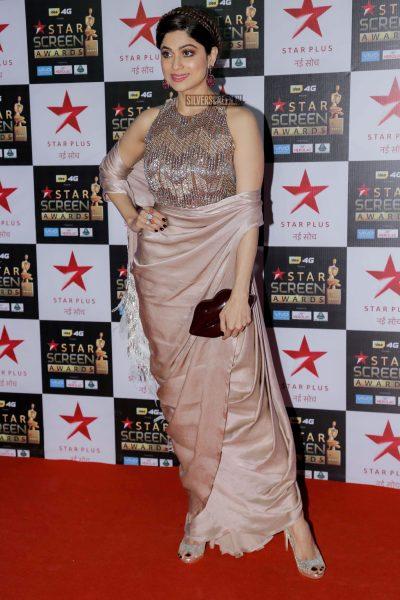 Shamita Shetty at the Star Screen Awards.