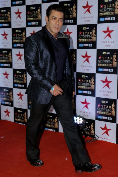 Salman Khan at the Star Screen Awards.
