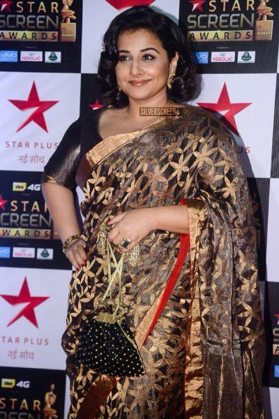 Vidya Balan at the Star Screen Awards.