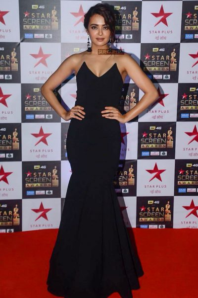 Surveen Chawla at the Star Screen Awards.