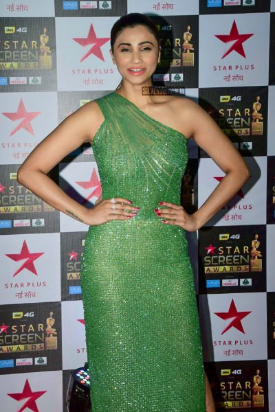 Daisy Shah At The Red Carpet Function of Star Screen Awards 2017