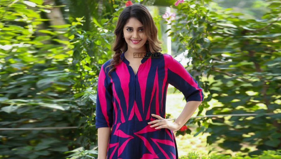 Surbhi at the Okka Kshanam Teaser Launch