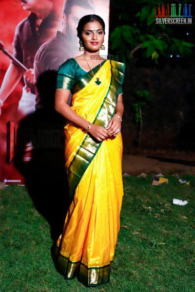 Meenakshi At The Madura Veeran Audio Launch