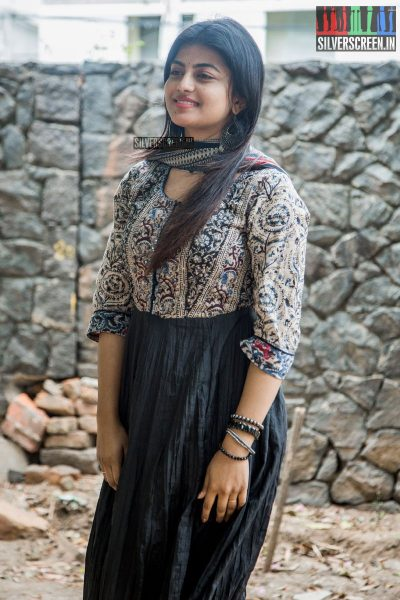 Anandhi At The Mannar Vagera Audio Launch