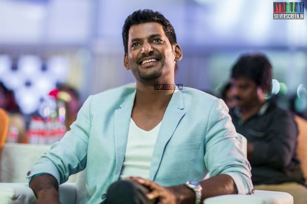 Vishal At The Irumbu Thirai Trailer Launch