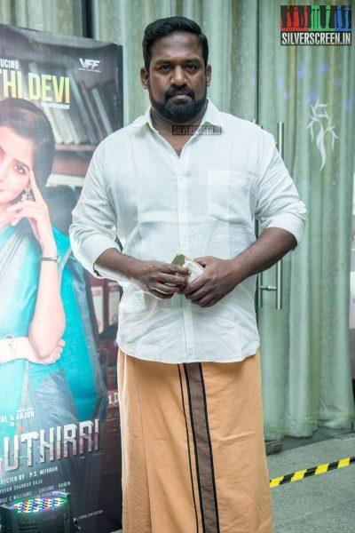 Robo Shankar At The Irumbu Thirai Trailer Launch