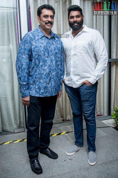 Ajay Ratnam At The Irumbu Thirai Trailer Launch