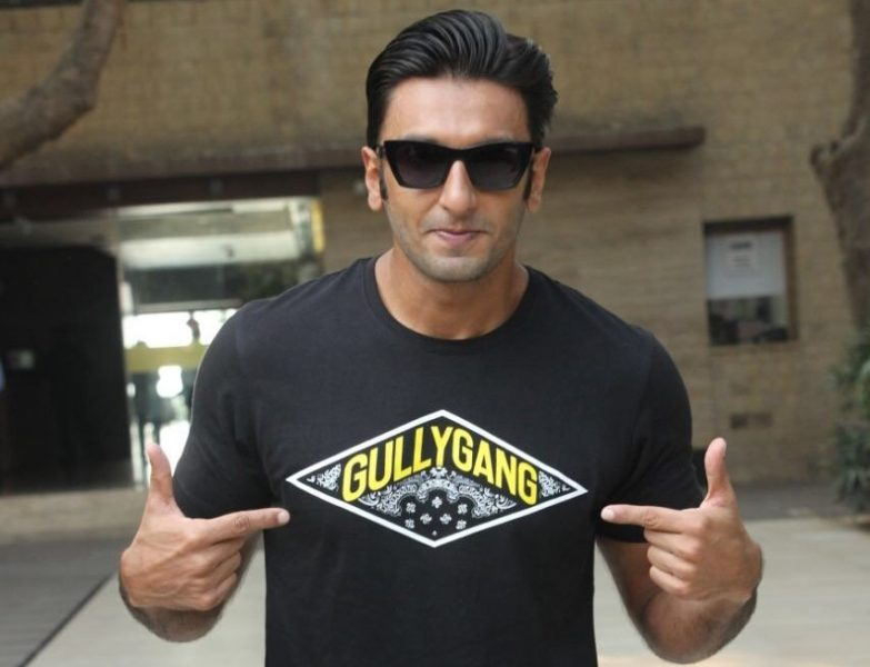 Ranveer Singh begins recording sessions for Gully Boy