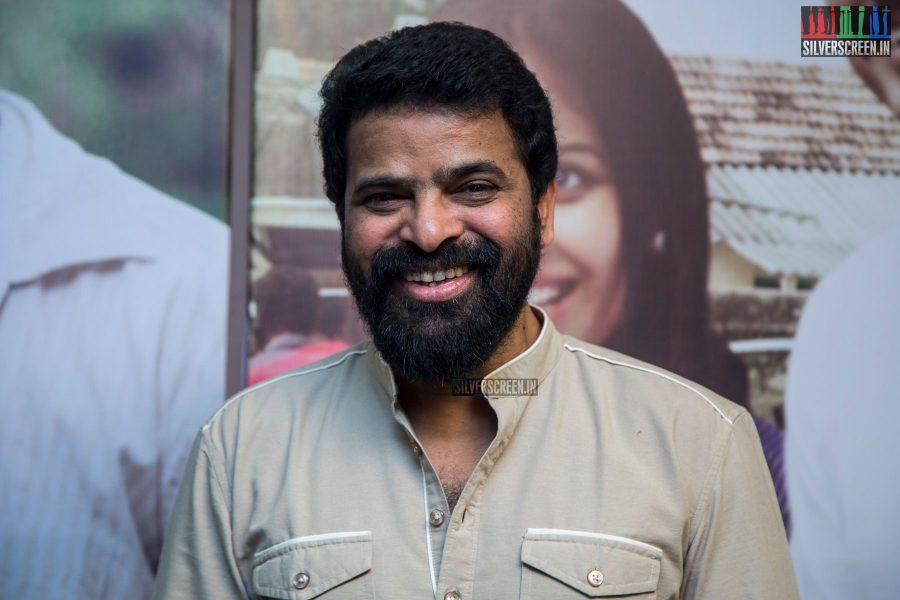 Ameer at the Achamillai Achamillai Audio Launch