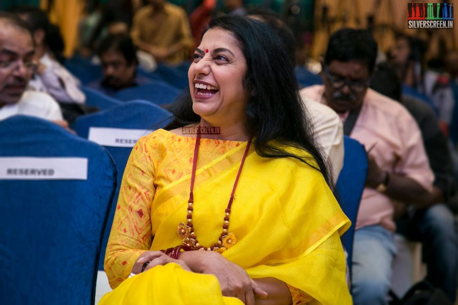 Suhasini at the Keni Audio Launch