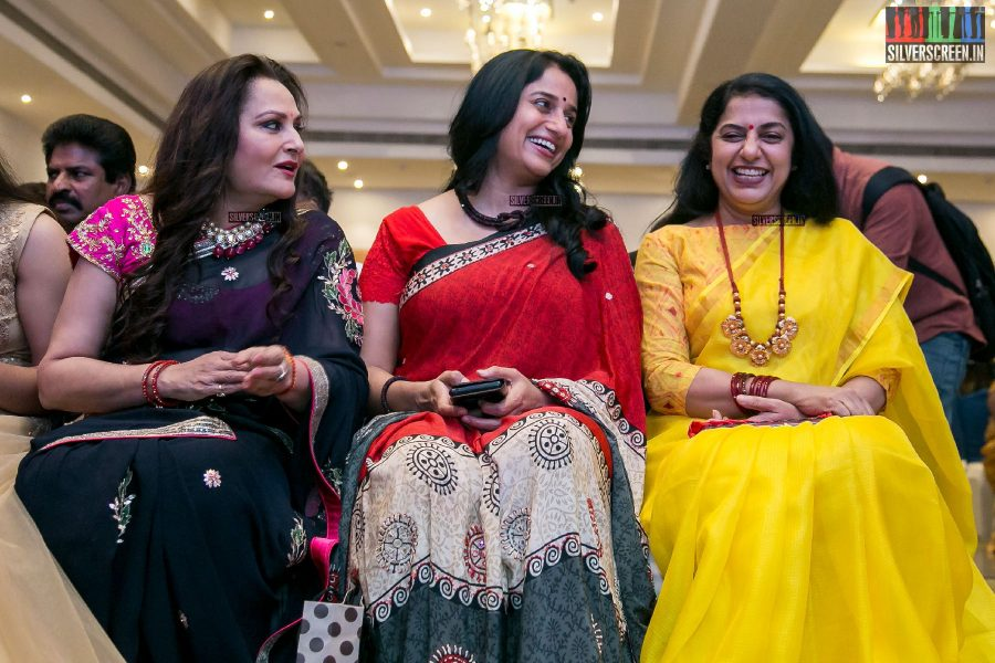 Suhasini, Jaya Prada, Anu Hasan at the Keni Audio Launch