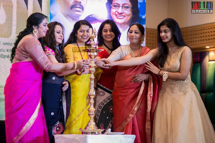 Suhasini, Jaya Prada, Anu Hasan at the Keni Audio Launch