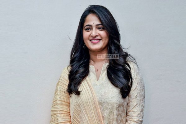 Anushka Shetty At Bhaagamathie Success Meet In Hyderabad