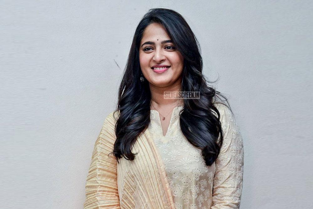 Anushka Shetty At Bhaagamathie Success Meet In Hyderabad