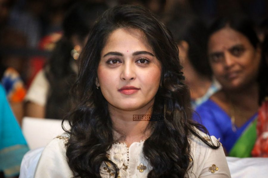 Anushka Shetty At The Bhaagamathie Pre-Release Event