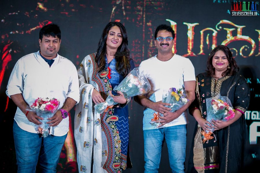 Anushka Shetty at the Bhaagamathie Audio Launch