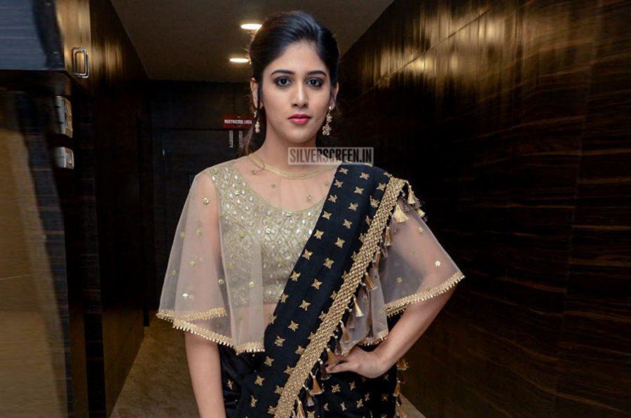Chandini Chowdary At The Howrah Bridge Audio Launch