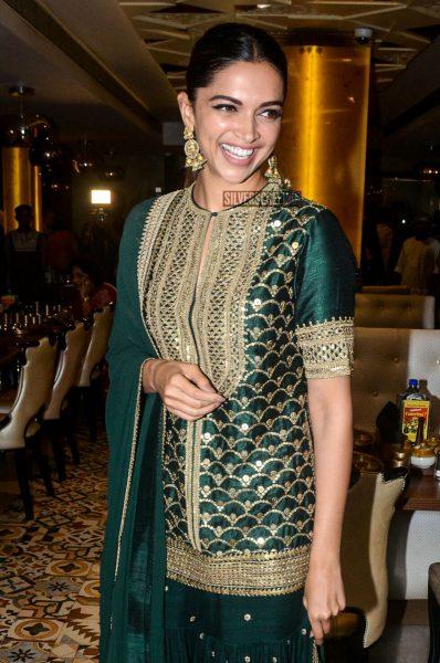 Deepika Padukone Celebrates the Success of Padmaavat at Maharaja Bhog