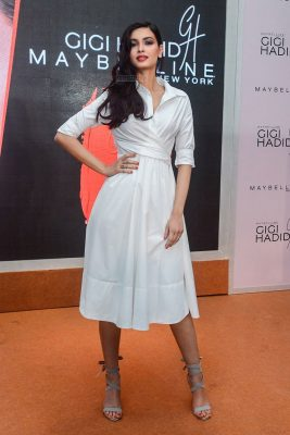Diana Penty Launches Gigi Hadid x Maybelline New York Collection