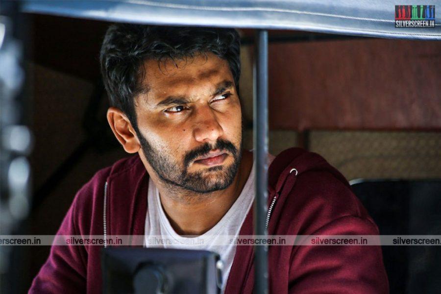 Iravukku Aayiram Kangal Movie Stills Starring Arulnithi and Mahima Nambiar