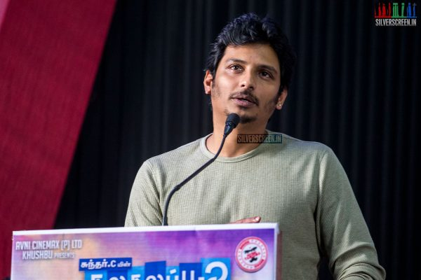 Jiiva At The Kalakalappu 2 Press Meet