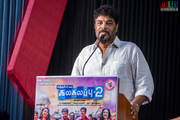 Sundar C At The Kalakalappu 2 Press Meet